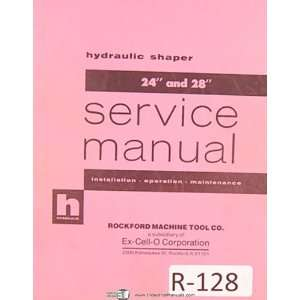 Installation Operation Maintenance and Parts Manual Rockford Books