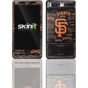 San Francisco Giants   Cap Logo Blast skin for Motorola