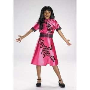 Cheetah Girls Galleria Quality Costume: Girls Size 4 6: Toys & Games