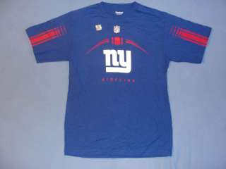 New Reebok Mens N.Y New York Giants Official Sideline T Shirt M