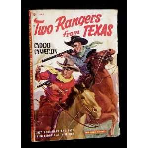 TWO RANGERS FROM TEXAS (2) Caddo Cameron Books