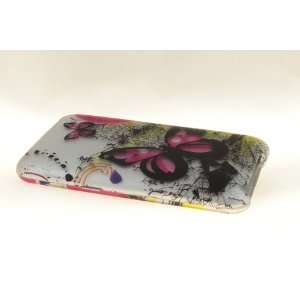 Apple iPod Touch 2 / 3 Hard Case Cover for Butterfly