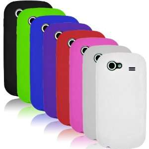 Samsung Nexus S i9020   EIGHT (8) Soft Silicone Skin Case Cover Combo