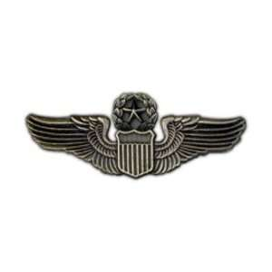 Large Army/AF Command Pilot Badge/Hat Pin
