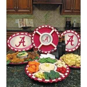 Alabama Crimson Tide Ceramic Dinner Plate Sports