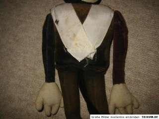 VINTAGE Old VELVET MICKEY MOUSE, 1930 (?) Micky Maus