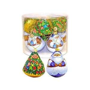 Sweet Christmas Ornament Santa Claus and Christmas Tree 308 G/11 Oz