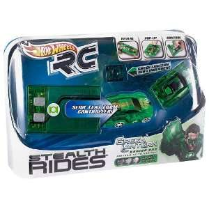 Hot Wheels RC Stealth Rides   Green Lantern Racing Car Toys & Games