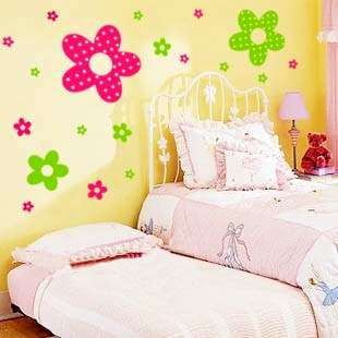 VINYL WALL/WINDOW ART DECAL STICKER PRINCESS FLOWER
