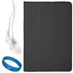 Black Executive Leather Case Cover for Samsung Galaxy Tab