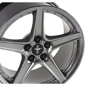 Ford Mustang Saleen R Style Wheel Silver Wheels Rims 1994