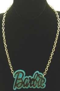 Brand new item New Large Nicki Minaj Barbie acrylic baby blue pendant