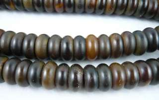 Tibetan Buddhist Yak horn Carved 108 Prayer Beads Mala