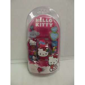 Hello Kitty Ballons LCD Watch Interchangeable Tops