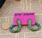 Betsey Johnson Fashion crystal super personality earrings E033
