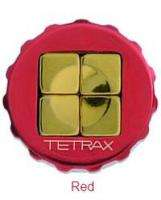 Tetrax FIX Red Magnetic Car Dash Mount for Apple iPod, Nano, Touch