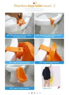Children Potty Urinal Toilet training for boys pee [Made in Korea