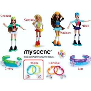 Happy Meal Barbie My Scene Wear And Share Flower Toy Bracelet #2 2007