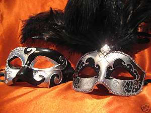 MASK VENETIAN MASQUERADE BALL MASK HIS AND HERS HALLOWEEN MASK