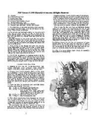 Standard Twin Garden Tractor Manual
