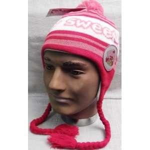 SHORTCAKE Sweet Berry Knit LAPLANDER Adult Hat