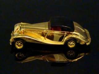Hot wheels F.A.O. Schwarz 24K GOLD CLASSICS 1/64 Ltd Edt Set 15