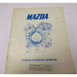 1974 Mazda Power Steering Service Repair Shop Manual OEM