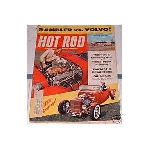 Hot Rod Magazine September 1958 Hot Rod Magazine Books