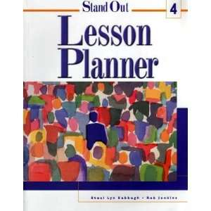 Stand Out Lesson Planner, Level 4 (9780838422373) Rob