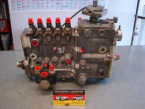 Mercedes W123 W126 300D Turbo Diesel Fuel Injection Pump