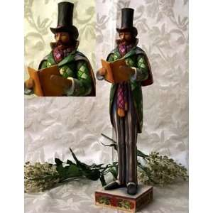 2pc Jim Shore Heartwood Creek Man And Woman Christmas