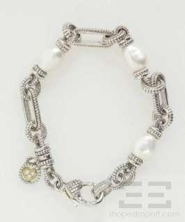 Ripka Sterling Silver, 18k Gold, Pearl & Diamond Bracelet