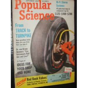Popular Science Magazine (September, 1963) Staff Books