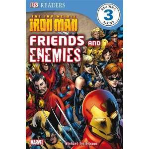Invincible Iron Man Friends and Enemies (Dk Readers Level