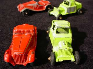 Cast TOOTSIE TOY CARS & TRUCKS 1950s/60s MG & Pickup Truck