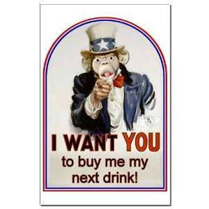 Buy Me a Drink Humor Mini Poster Print by CafePress: Patio