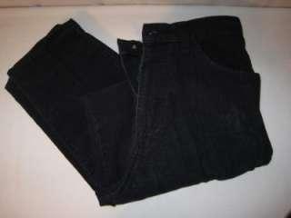 Route 66 Womens Navy Blue Corduroy Pants 33 x 30