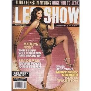 Feb 2005 Leg Show Magazine: Dian Hanson: Books