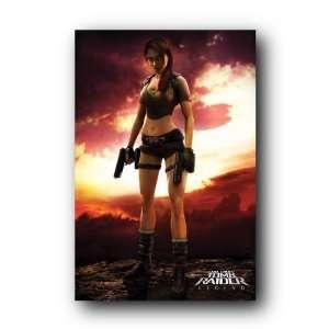 Tomb Raider Guns Lara Croft Legend Game Poster P31232 A