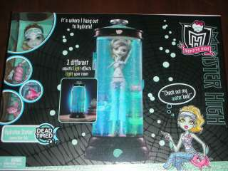 NEW NIB Monster High LAGOONA BLUE Dead Tired with Hydration Station