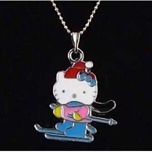 Miss Peggy Jos   Hello Kitty Necklace  Sports Kitty  16