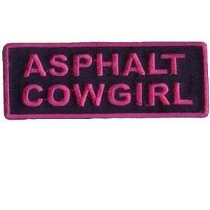 Cowgirl Embroirdered Biker Vest Patch Patches!!: Everything Else