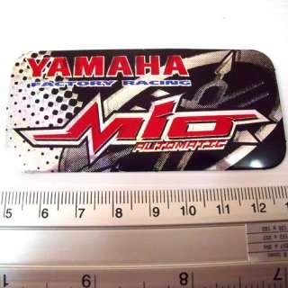 YAMAHA Mio Racing Reflect Light Decal Sticker 8x4cm