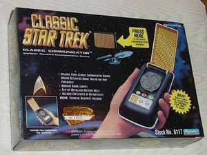 STAR TREK CLASSIC COMMUNICATOR ELECTRONIC SEALED