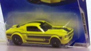 2008 Hot Wheels 67 Shelby GT 500 Ford Mustang Muscle Mania 09