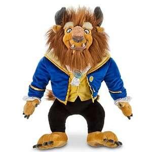 NEW  Beauty and the Beast Beast Plush Stuffed Doll 17 H