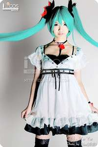 VOCALOID Hatsune Miku World is mine cosplay costume Cos