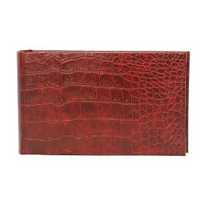 Photo Album, Bonded Leather Crocodile Embossed Arts, Crafts & Sewing