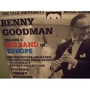 Benny Goodman Big Band in Europe Vol. 3 Benny Goodman Music