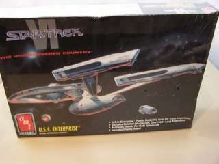 AMT ERTL STAR TREK VI USS ENTERPRISE SEALED MODEL KIT |
